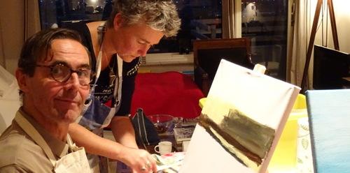 Intuїtief schilderen: Kijkjes in de Ziel